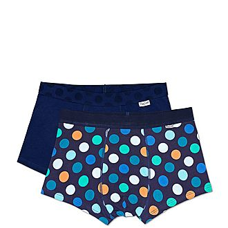 2-Pack Big Dot Boxer Trunks