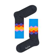 Argyle Diamond Socks