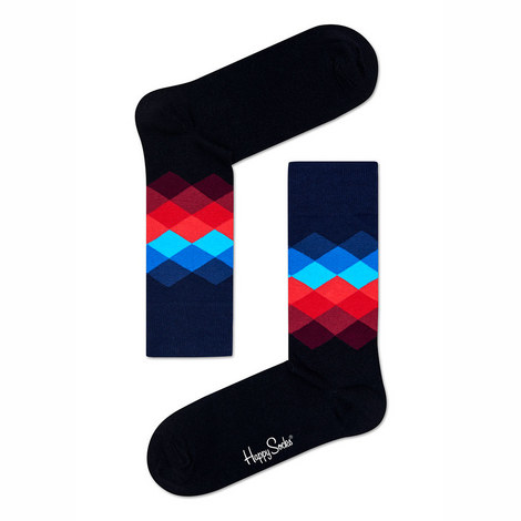 Argyle Diamond Socks, ${color}