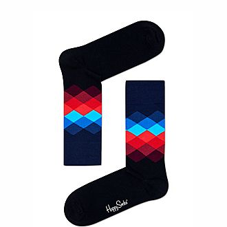 Argyle Diamond Socks