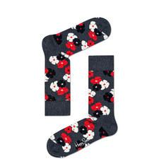Kimono Floral Socks