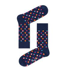 Multi Mini Diamond Socks