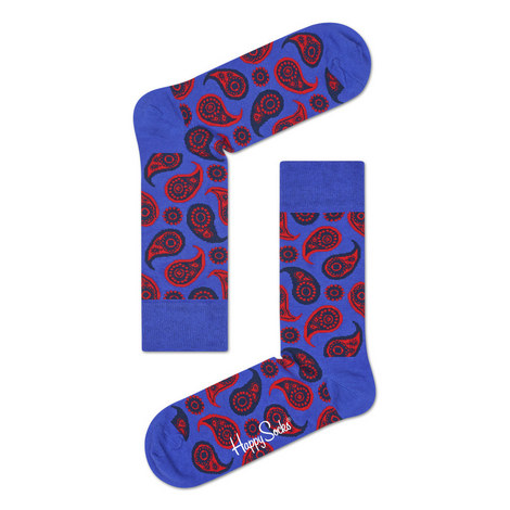 Paisley Print Socks, ${color}