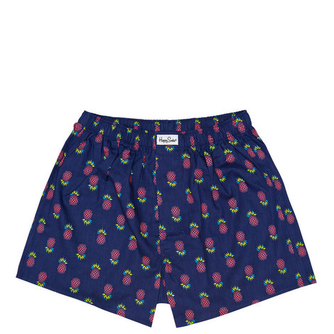 Pineapple Woven Boxer, ${color}