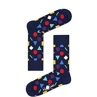 Shape Print Socks