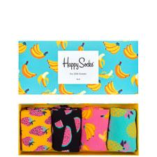 Fruit Socks Gift Box