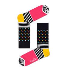 Stripe & Dot Pattern Socks