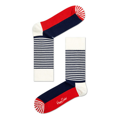 Block and Stripe Socks, ${color}
