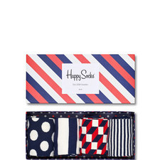 Polka Dot Stripes Gift Box
