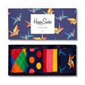 4-Pack Mixed Print Socks, ${color}