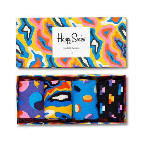 4-Pack Socks Gift Box, ${color}