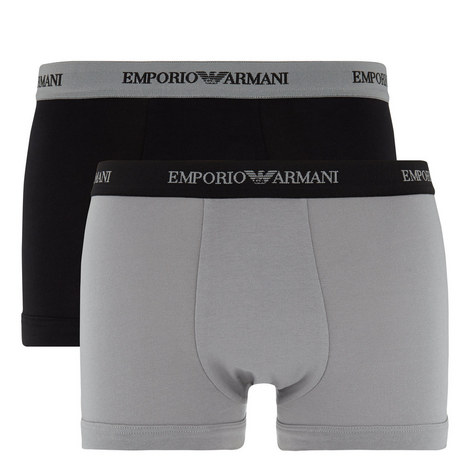 Cotton Trunks Two Pack, ${color}