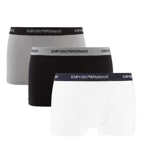 3 Pack Parigamba Trunks, ${color}