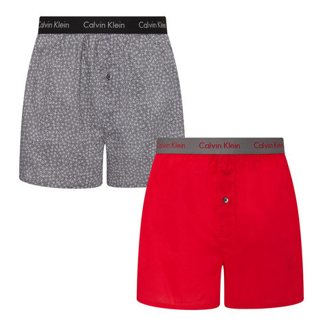 2 Pack Slim Fit Trunks, ${color}