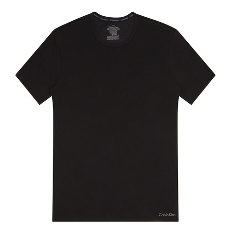 CK Black Crew Neck T-Shirt, ${color}