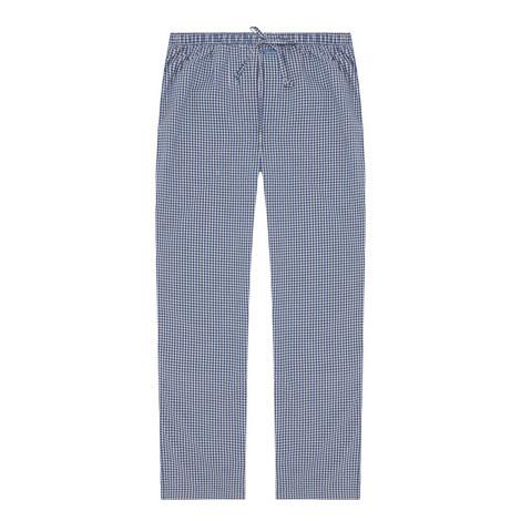 Dawson Check Print Pyjama Bottoms, ${color}