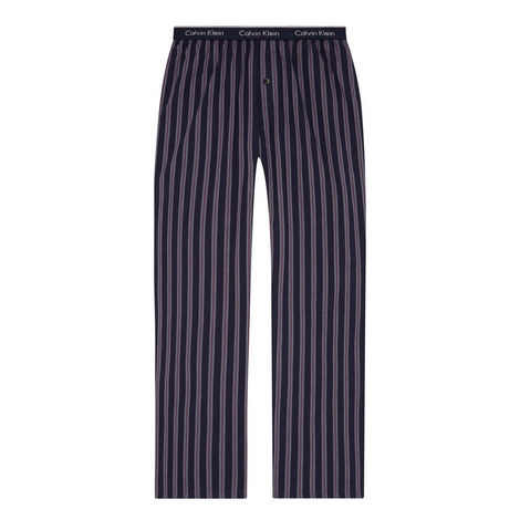 Stripe Pattern Pyjama Bottoms, ${color}