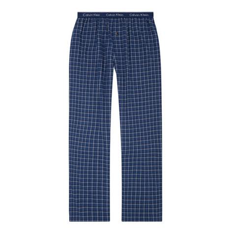 Draper Plaid Flannel Pyjama Bottoms, ${color}