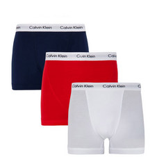 Three Pack Cotton Stretch Trunks