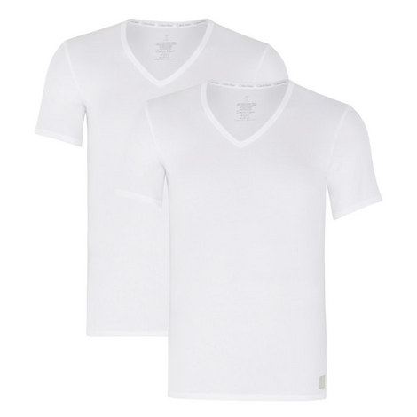 Two Pack V-Neck T-Shirt, ${color}