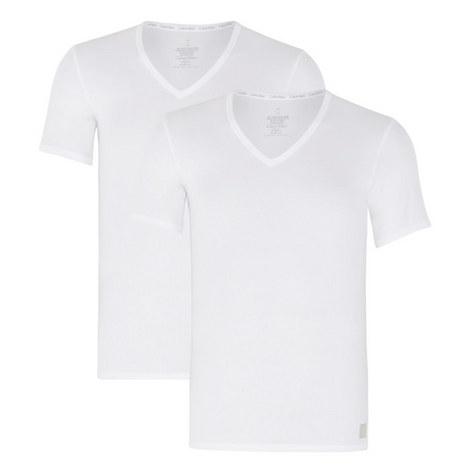 Two Pack V-Neck T-Shirt, ${color}