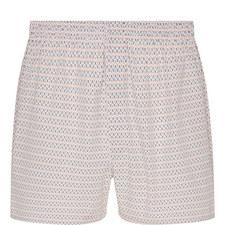 Printed Woven Boxer Shorts