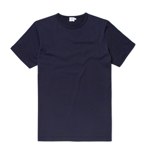 Jersey Crew Neck T-Shirt, ${color}