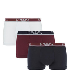 3-Pack Stretch Cotton Trunks