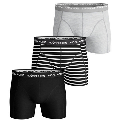 Stripe Shorts 3 Pack, ${color}