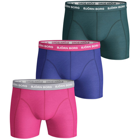 3-Pack Seasonal Solid Trunks, ${color}