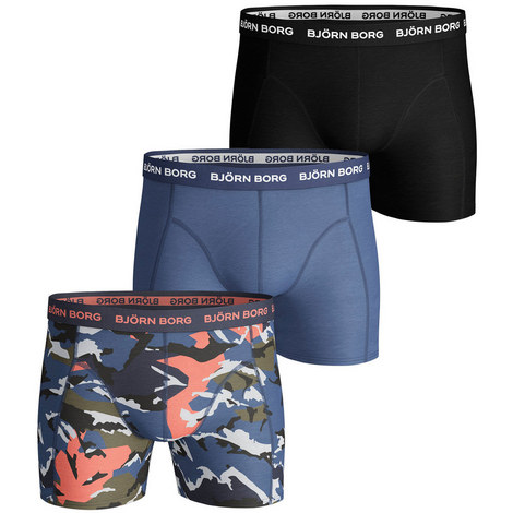 Camouflage Shade Shorts 3 Pack, ${color}