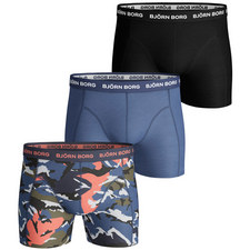 Camouflage Shade Shorts 3 Pack