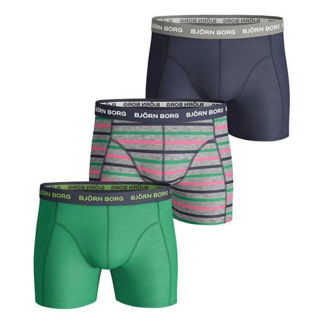 3-Pack Stripe Trunks, ${color}
