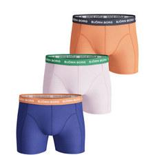 3-Pack Seasonal Solid Shorts
