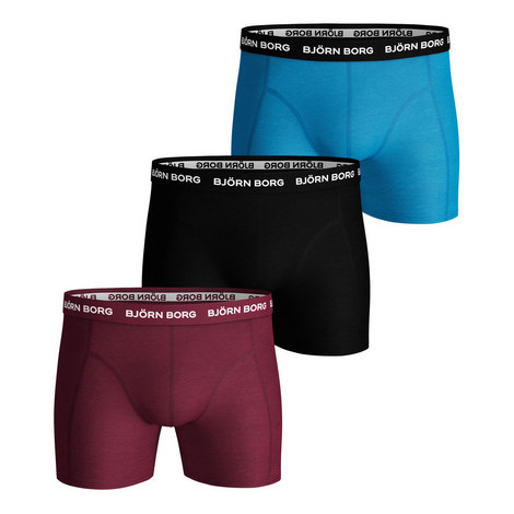 3-Pack Solid Shorts, ${color}