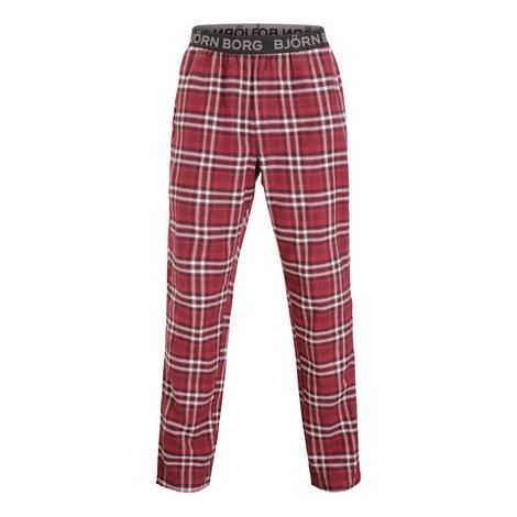 Paul Flannel Check Pyjama Bottoms, ${color}