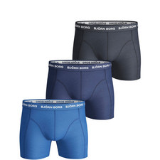 3-Pack Solid Trunks