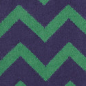 Chevron Pattern Socks, ${color}