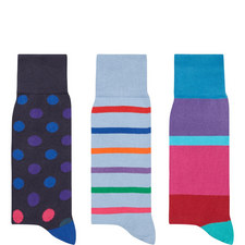3-Pack Socks