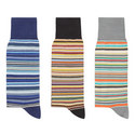 3-Pack Stripe Socks, ${color}