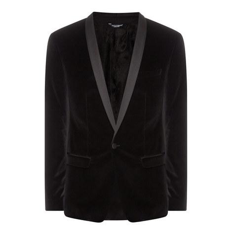 Velvet Shawl Evening Jacket, ${color}