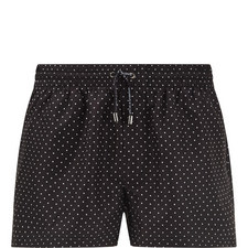 Polka Dot Swim Shorts