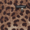 Leopard Print Swim Trunks, ${color}