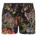 Floral Leopard Swim Trunks, ${color}
