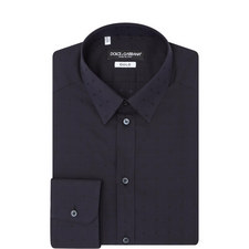 Tonal Dot Twill Shirt