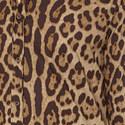 Leopard Print Poplin Shirt, ${color}