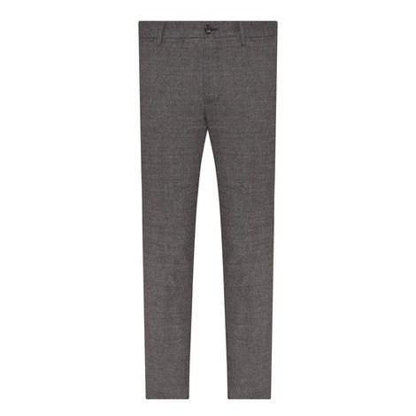 Straight Fit Check Trousers, ${color}