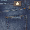Distressed Slim Fit Jeans, ${color}