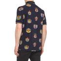 Crest Print Polo Shirt, ${color}