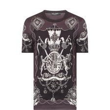All-Over Military Print T-Shirt
